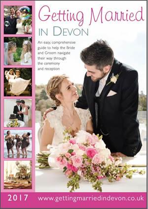 Marriage & Civil Ceremonies in Devon 2016  front cover