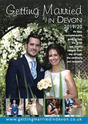 Marriage & Civil Ceremonies in Devon 2019  front cover