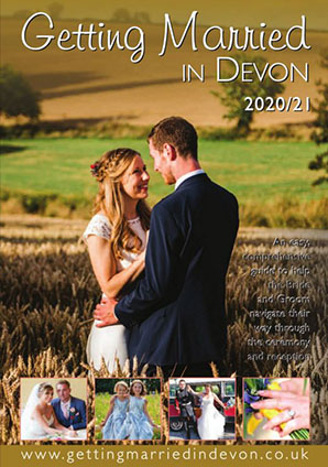 Marriage & Civil Ceremonies in Devon 2020/21  front cover